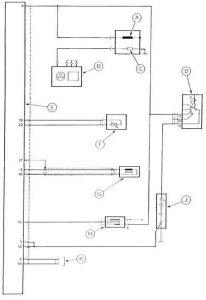 Схема распределителя и системы зажигания