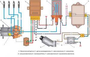 Схема зажигания с ДХ