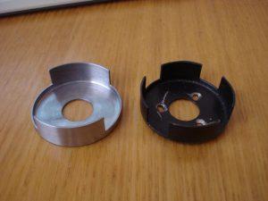 Шторка 2-контурного зажигания (слева) и обычногоШторка 2-контурного зажигания (слева) и обычного