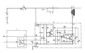 Схема зажигания с датчиком холла