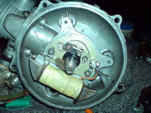 Как заменить магнето в бензопиле урал