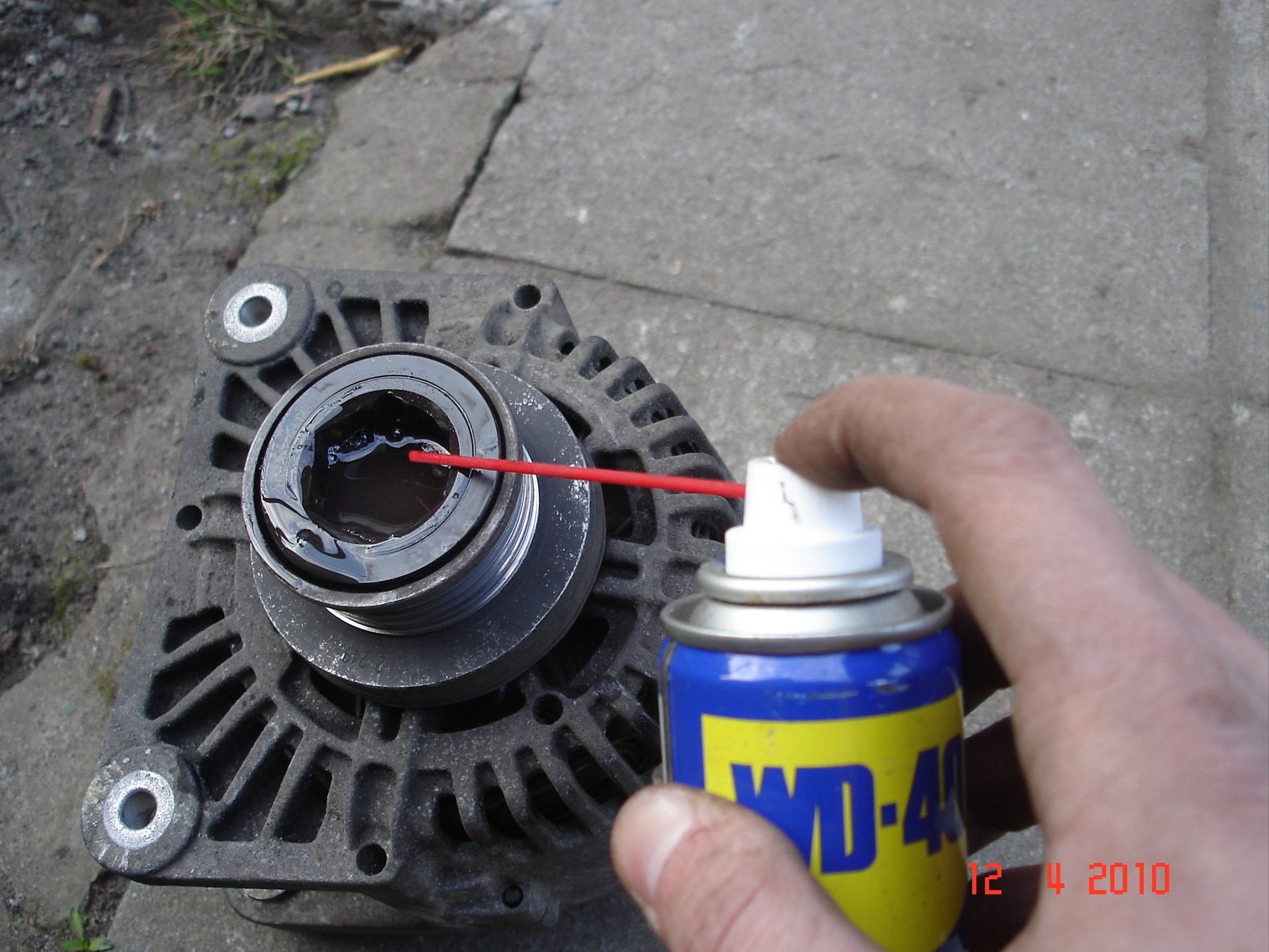Замена генератора рено меган 2 своими руками