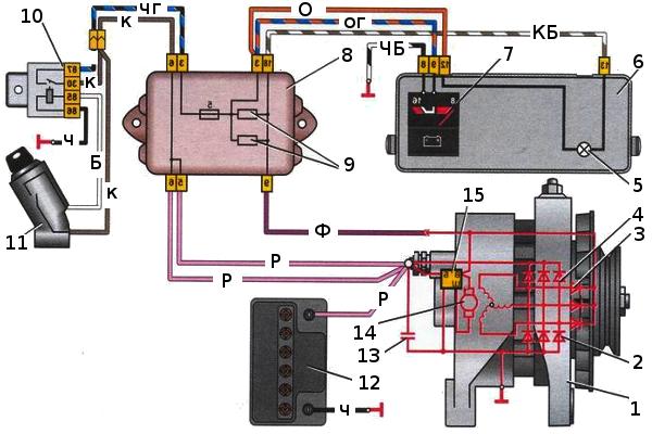Схема генератор