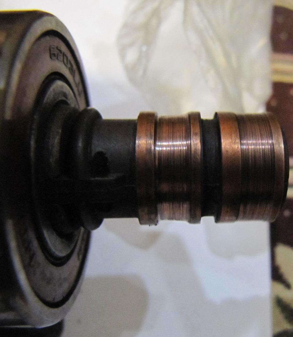 Токосъёмные кольца генератора