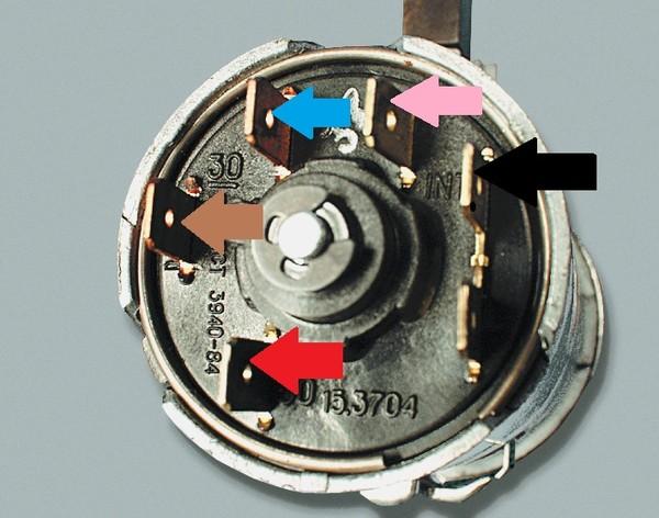 Как правильно подсоединить провода замок зажигания