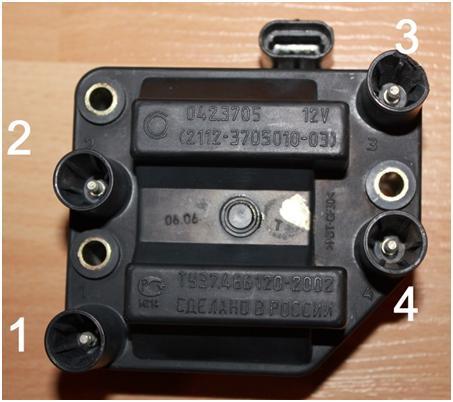 Как правильно соединить провода на ВАЗ 2114 к катушке зажигания до 2004