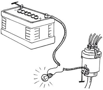 Лампа для проверки трамблёра