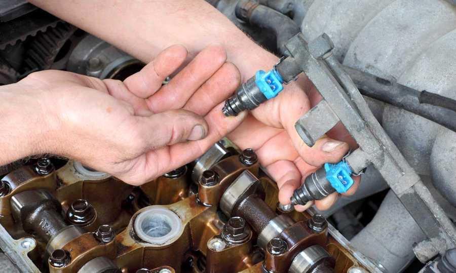 Как можно самому промыть форсунки на инжекторе