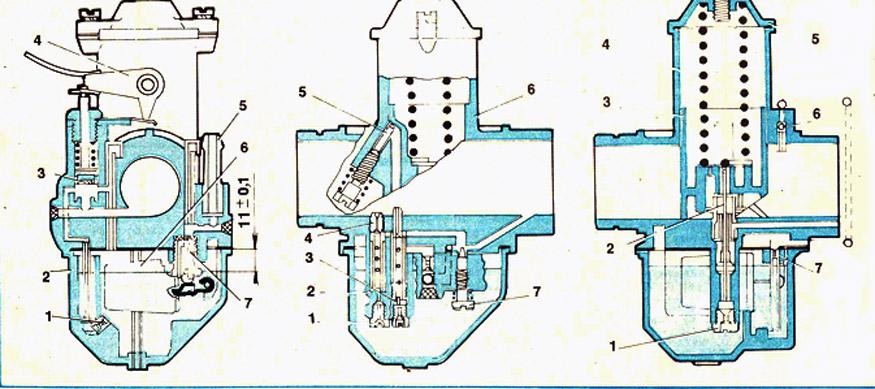 Как сделать карбюратор у мопеда 111