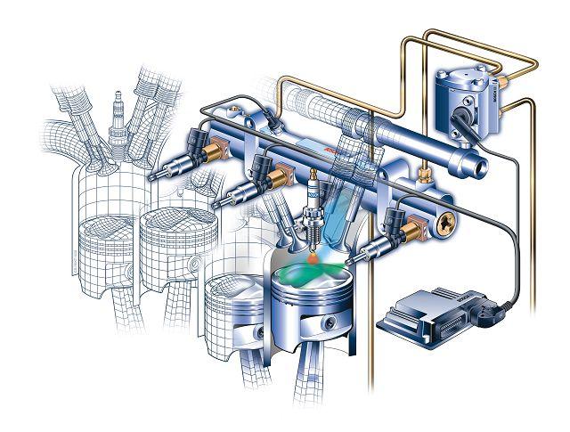 Схема работы инжектора