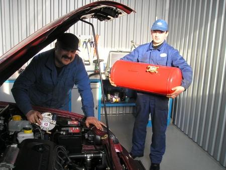 Установка ГБО на автомобиль