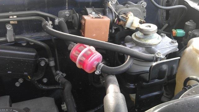 Дополнительный топливный фильтр