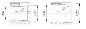 Сравнительные схемы по диффузорам