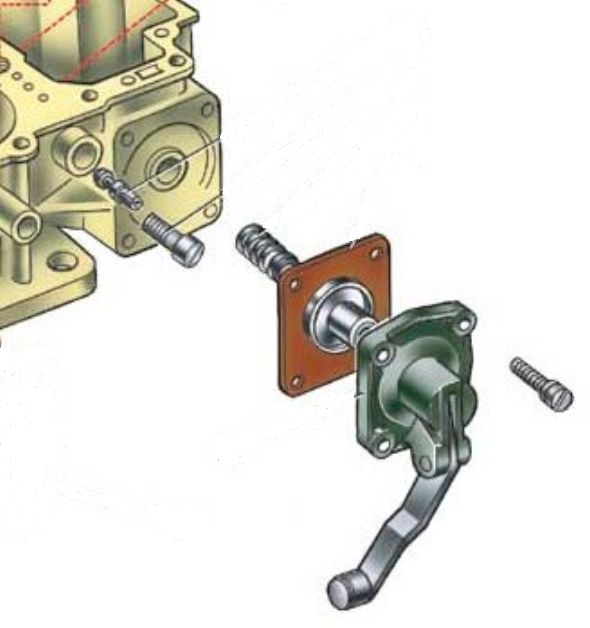 Ускорительный насос карбюратора