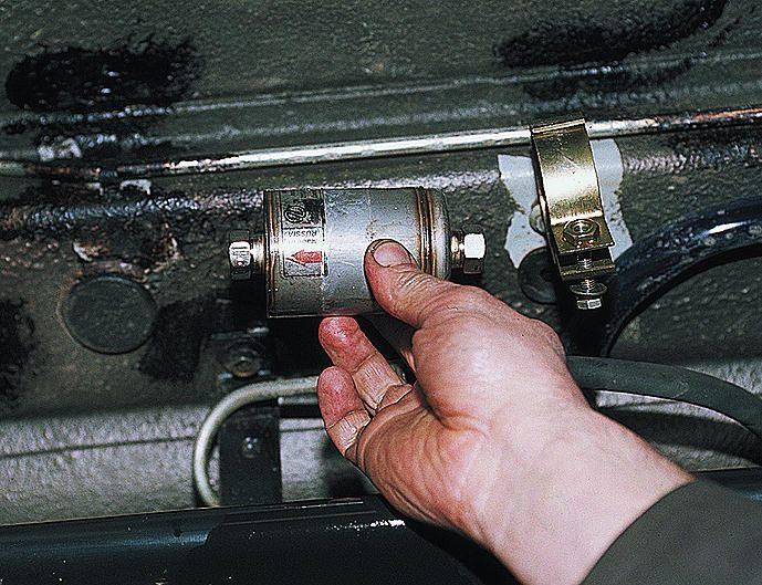 Влияние топливного фильтра на машину