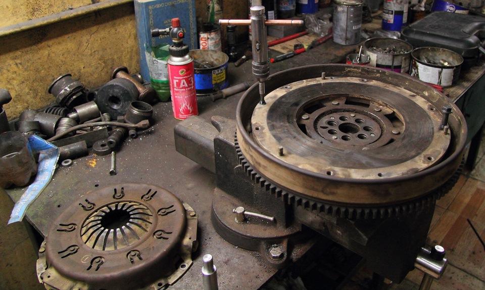 ремонт двухмассовых маховиков вольво