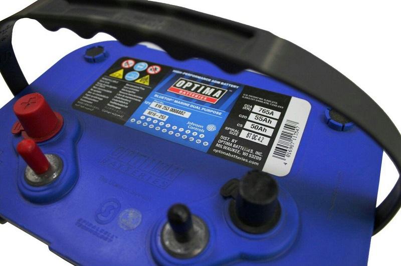 Аккумулятор Оптима синий