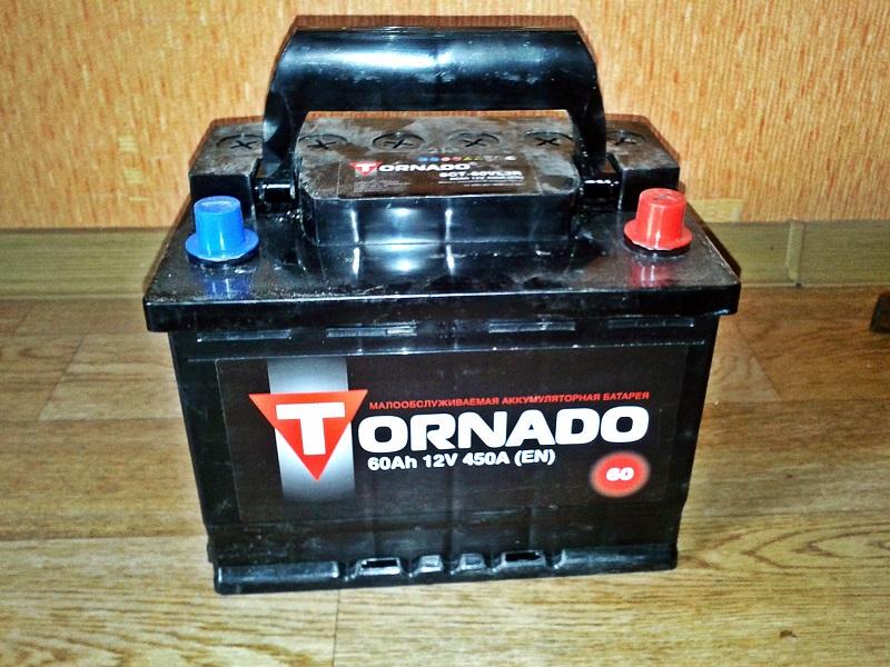 Аккумулятор Торнадо