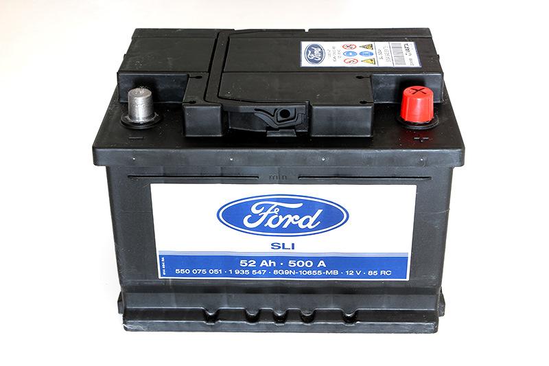 Форд Фокус 2 аккумулятор