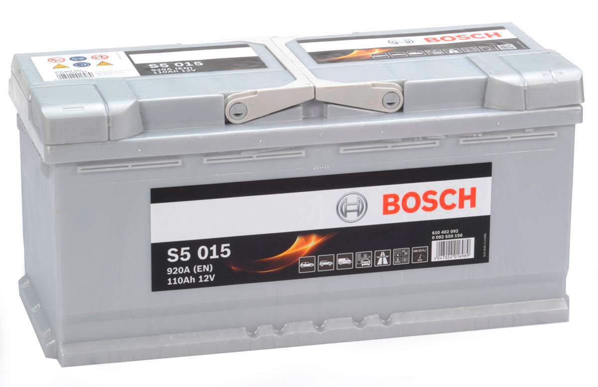 Большой аккумулятор Бош