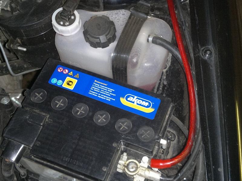 Аккумулятор на Ваз 2114