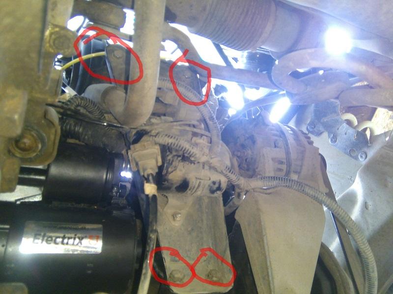 Стартер Деу Нексия защита двигателя