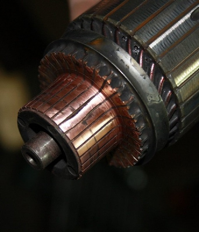 Якорь или ротор стартера