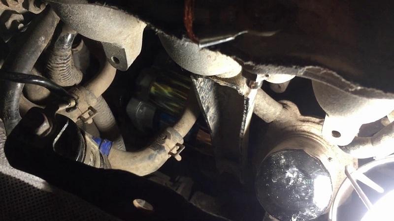 Замена и ремонт стартера на Спортейдж